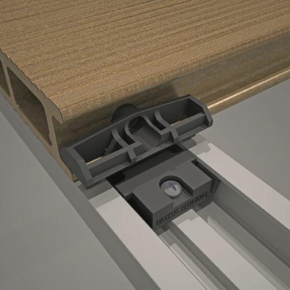Łączniki PVC 85 szt. do deski 9555 + wkręty (nr kat. 9486)