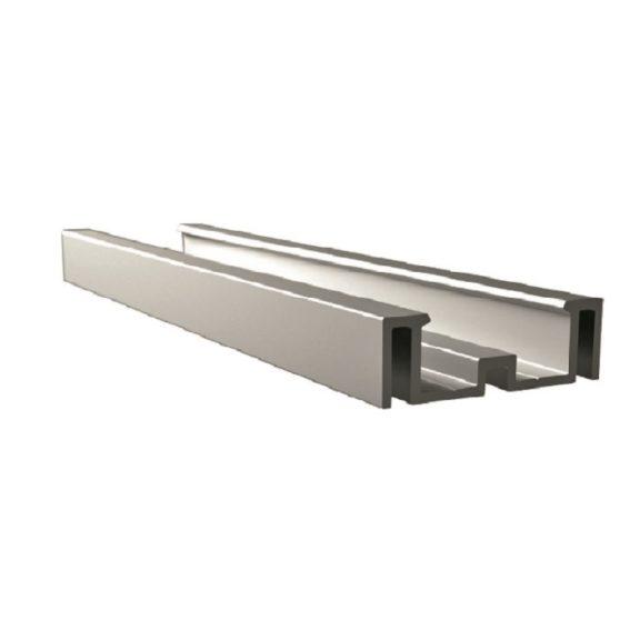 Profil montażowy aluminiowy 16 x 50 x 6000