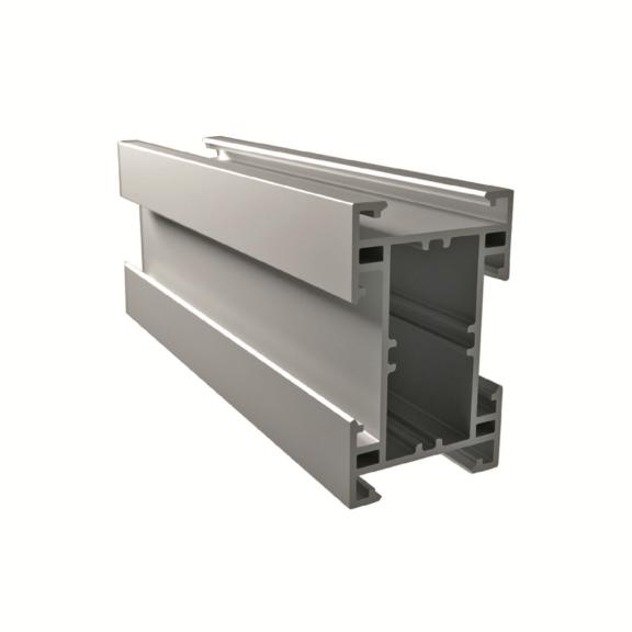 Profil montażowy aluminiowy 80 x 50 x 6000