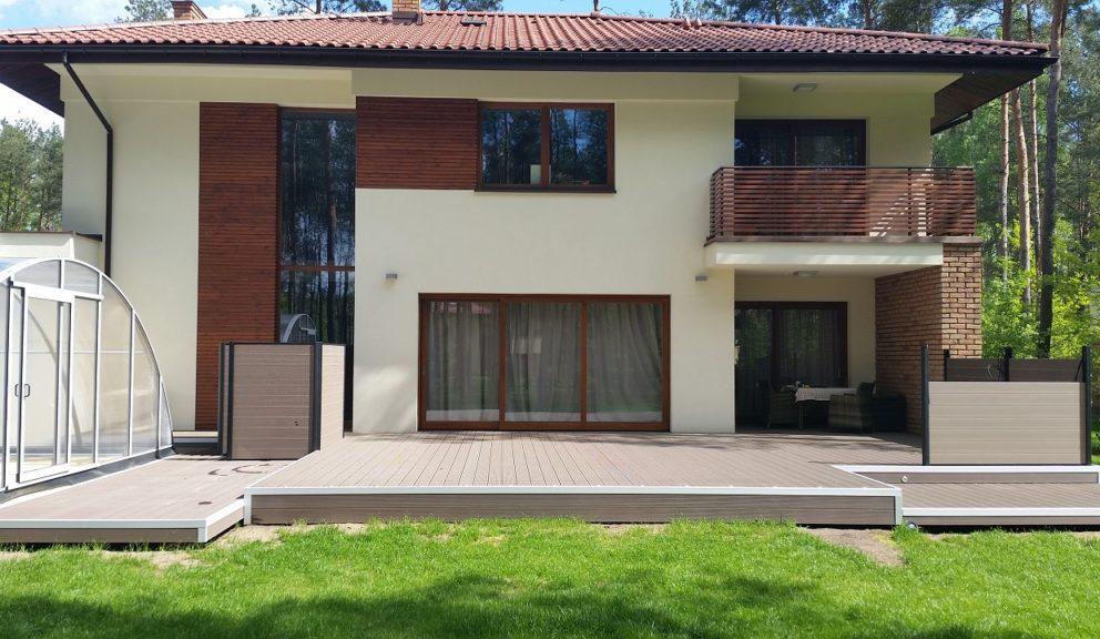 Taras kompozytowy Twinson Essential Terrace w Braniewie