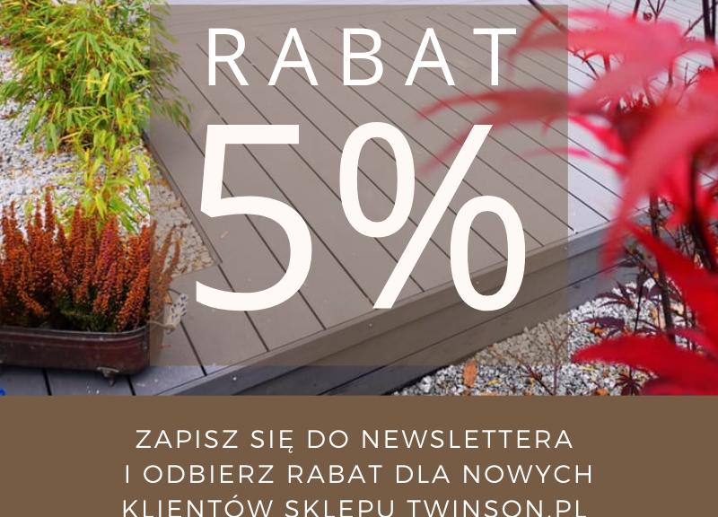 Tarasy Twinson Rabat 5%